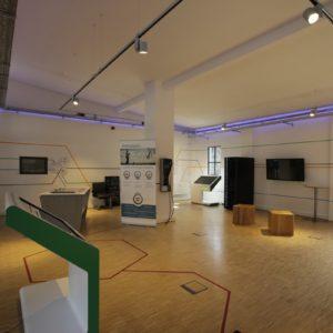 Der Showroom bietet Besuchergruppen die Möglichkeit, das MSG näher kennenzulernen   Foto: InnoZ