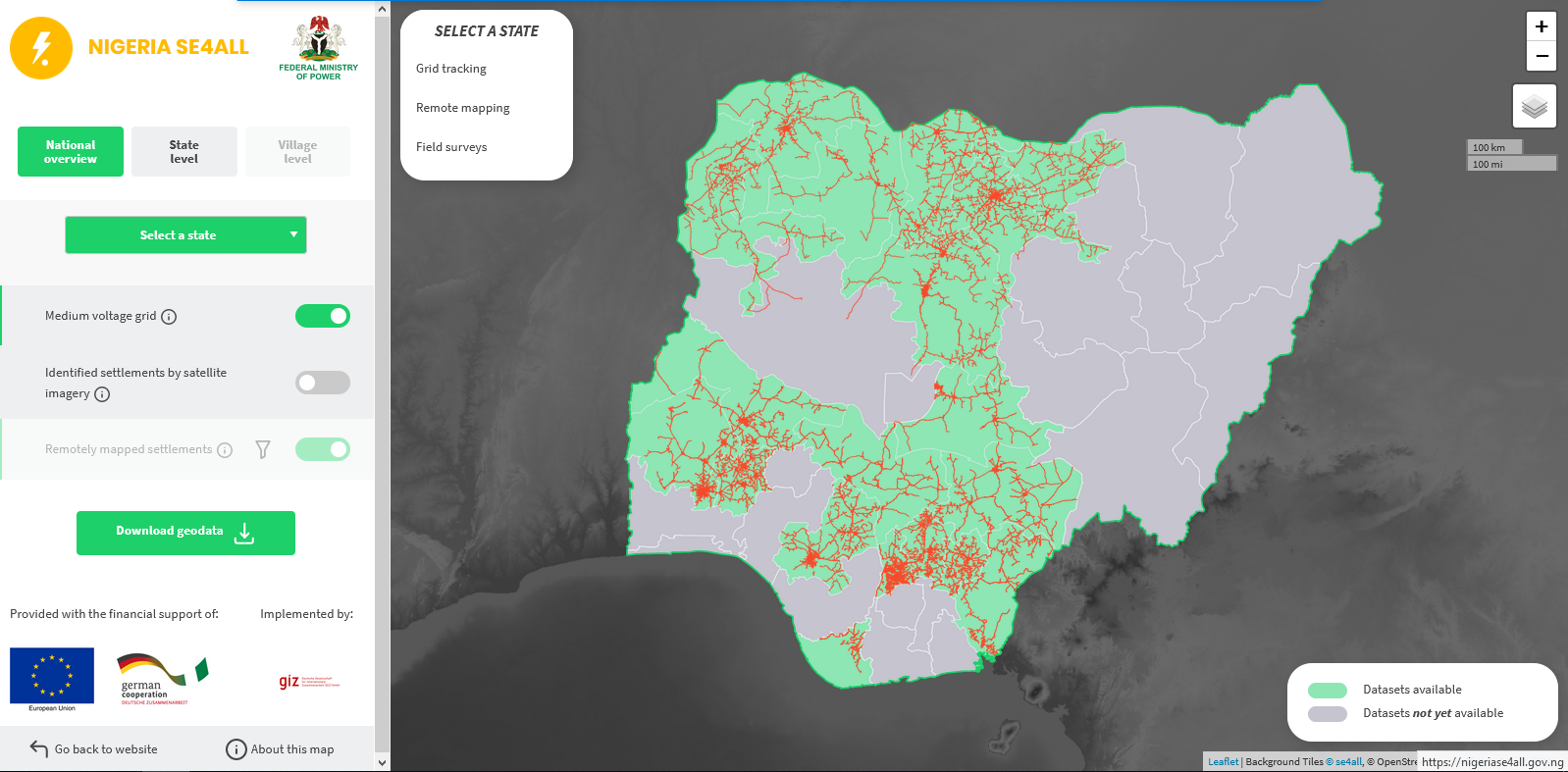 web mapping tool
